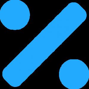 logo pourcentage